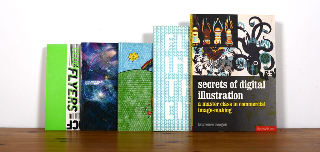 Libros con trabajos editados