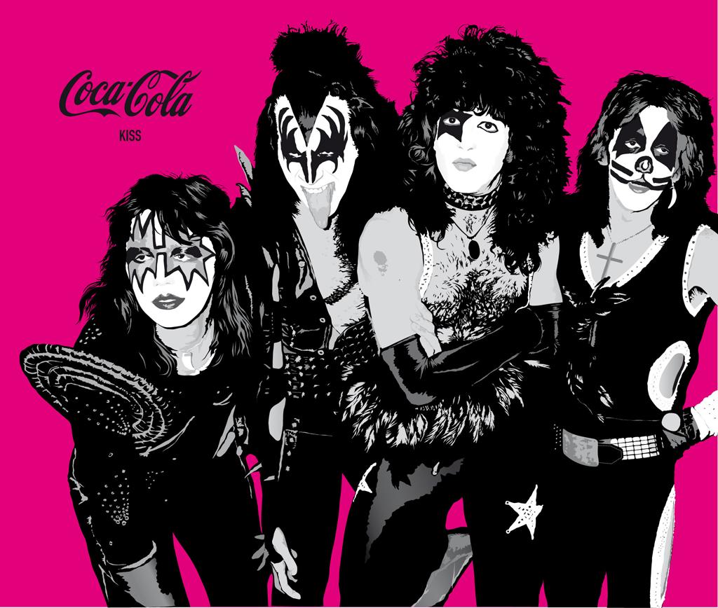 Coca-Cola - Kiss
