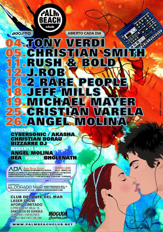Palm Beach - Poster - Agosto